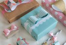 Gift Wrapping / Presentation is key when it comes to gift wrapping.