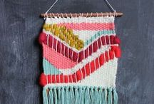 Weaving / Weave away with this inspiring collection of ideas.