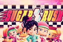 sugar rush & wreck-it ralph