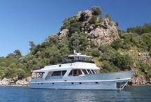 CASPA / #motoryacht, #yacht, #bluevoyage, #yachtcharter,  www.cnlyacht.com