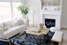 Living   Family Rooms Ideas / Inspiration for creating a beautiful living spaces.