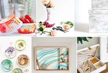 DIY for the home / Wonderful DIY and crafts projects to beautify your home.