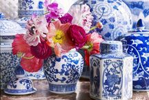 Home Decor: Blue and White / Blue and white pieces are timeless and classic and can work with any decor style! To find out how to easily incorporate blue and white pieces into your home decor, visit us at http://www.thehomeicreate.com/decorating-with-blue-and-white-porcelain/