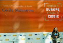 #TTIP: Dialog obywatelski z komisarz Cecilią Malmström / Już 18.09 zapraszamy na dialog obywatelski dotyczący negocjowanej przez UE i USA umowy o wolnym handlu #TTIP. Gościem specjalnym wydarzenia będzie komisarz ds. handlu Cecilia Malmström!  Transmisja spotkania (godz. 12:00) dostępna będzie na stronie: www.bit.ly/DialogTTIP  Zachęcamy do komentowania spotkania na żywo na Twitterze z wykorzystaniem #EUdialogues!