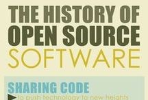 Linux and Open Source Infographics / Best infographics on Linux, Open Source, tech history and other geek stuff.