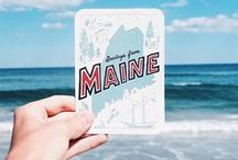 Maine: The Way Life Should Be / Vacationland USA