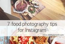 Food Photography / Food photography tips for food bloggers and food stylists.