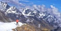 High Altitude Mountaineering / The best of glacier travel, snow climbing, ice climbing, winter camping. Beautiful climbing photos from mountains around the world. Inspiration to practice that z-haul!