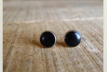 { PDD Post Earrings } / Handmade by Pickle Dog Design. ©All rights reserved.