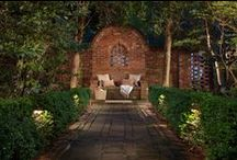 Landscape Lighting Charlotte / Make your yard look more beautiful after the sun goes down with landscape lighting.