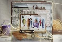 CARDS  / Card Makers from RUSSIA.  This My Gallery what i like so much!