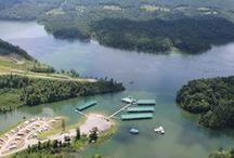 Marinas / View marinas and boat docks on Norris Lake