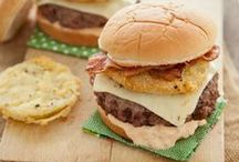 Burgers, Sandwiches, pockets, etc. / by Sherry Nesbit Evans