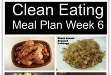 Meal Planning / Meal planning tips and actual plans.