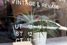 Recycle with love / vintage clothing