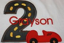 Race Car Birthday Party / Everything Race Car related including the pit crew