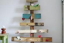Alternative Christmas Tree / Great alternative christmas tree for environmental thinker without fake feeling.  Eco-Friendly chritmas tree.