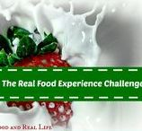 The Real Food Experience Challenge / Weekly real food goals to easily transition from a processed food diet to a real food lifestyle. Complete with free meal plans and motivation to make this healthy change for good!