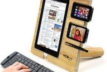 Phone, tablet, ipad holders / Phone, handy, cellphone, tablet, ipad, iPhone holders.