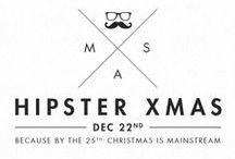{hipster kerst}