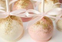 * pink & gold *