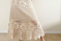 Skirts Spódnice / Na drutach i szydełku