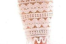 Sukienki / Na drutach i szydełku