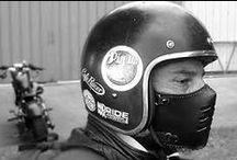 motorcycle, masks, vintage, cuir, accessoires, bobber, scrambler, chopper, cafe racer / culture motos et voitures anciennes et masques cuirs vintage www.boken-style.com