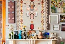 Style | Bohemian / This artistic, eclectic style is warm and welcoming with a variety of textures, colors, and styles that when combined creates a unique, personalized look that is sure to spark conversation and stories.