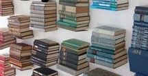 Organization | Books / A big reader needs a lot of shelves for their book collection. Gain some ideas here on how to display your passion, turning your books into art.