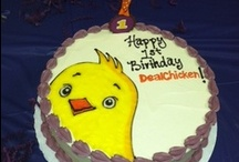 Creative Cakes / DealChicken celebrated 1 year of hatching deals around the country on July 12. This gave an opportunity for bakers to show off their stuff.  / by DealChicken