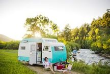 campers / I love the look of retro redesigned campers! / by Melinda Tomasello