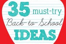 Back to School / I was inspired by all the cool products that are available today! From HP laptops to Rubbermaid LunchBlox, these products would make any kid smile!
