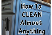 Cleaning & Freshening Tips / by Denise Sykora Lander