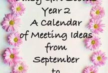 How to Earn Daisy Petals / Earn Daisy petal activities and ideas for Daisy Girl Scout leaders.
