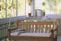 Sunrooms and Screened Porches / Make a home nearly perfect. ;)