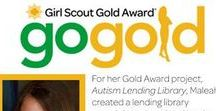 Girl Scout Gold Award Ideas / Here are Girl Scout Gold Award earners!
