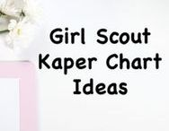 Girl Scout Kaper Charts / Girl Scout Kaper charts are a tradition that helps leaders keep their meetings organized.