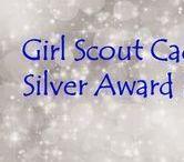 Girl Scout Silver Award Ideas / Cadette Girl Scout Silver Award ideas are highlighted on this board.