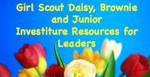Girl Scout Investiture / All the resources you need to plan your Girl Scout Investiture ceremony.
