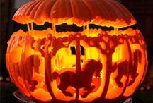 Halloween Pumpkin Carving Ideas / Looking for ideas, inspiration of just somewhere to hang your jaw in awe? You'll find some pretty special Halloween pumpkin carving examples right here.