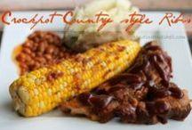 Slow Cooker Meals / Meals for your slow cooker / crock pot.