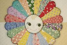 Dresden Plate Applique Quilts / Patterns / by Lottie Magee
