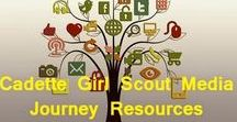 Cadette Media Journey Resources / The Cadette Media Journey is one that helps the girls reflect upon the images the media blares at them day in and day out.