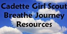 Cadette Breathe Journey Resources / This pinboard is devoted to the Cadette Breathe Journey, with activities and resources for leaders to use.