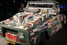 Bookmobiles and Little Libraries