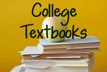 Textbooks / How to save money on textbooks throughout your college career / by Ohio University Upward Bound