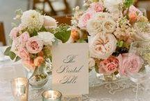 Wedding board / Bridal everything