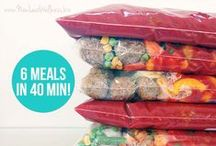 Modern Freezer Meals / make ahead and freezer meals to simplify your week