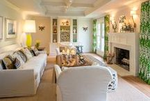 Living Room / Whether you're furnishing a formal sitting room or a fireside salon - lounge in serene luxury.